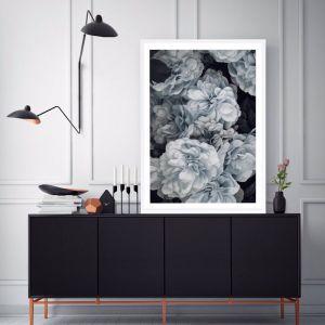 Blue Blooms Premium Art Print (Various Sizes)