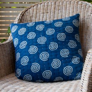 Blue Candy Cushion Cover