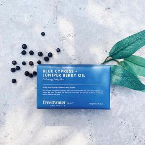 Blue Cypress + Juniper Berry Oil Calming Body Bar | 200g