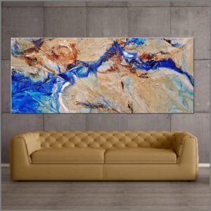 Blue Delta by Franko   Original Artwork   Art Lovers Australia