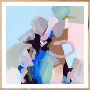Blue Fizz | Limited Edition | Fine Art Print | Framed or Unframed | Prudence De Marchi
