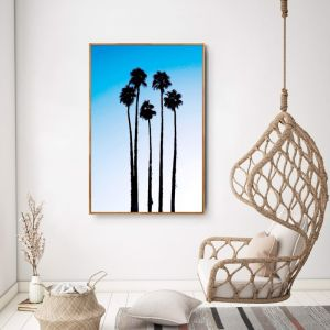 Blue Palms, Palm Springs by Virginia Star | Fine Art Photography | Art Lovers Australia