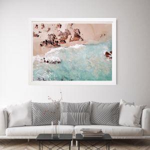 Blue Romance | Framed Wall Art by Beach Lane