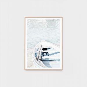 Blue Rowboat | Framed Photographic Print
