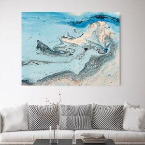 Blue Sea View | Canvas Wall Art by Beach Lane