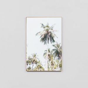 Blue Skies | Framed Canvas Print