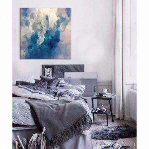 Blue Thursdays | Canvas Print| by United Interiors