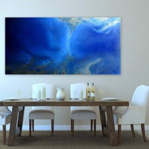 Blue Waters by Petra Meikle De Vlas | Original Artwork | Art Lovers Australia