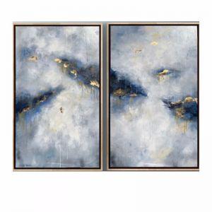 Blueberry & Toasted Almond Parfait | Framed Original Artwork