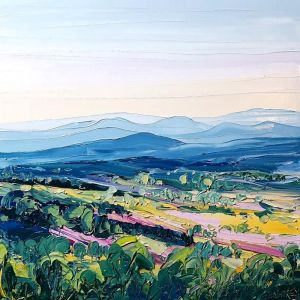 Bluethumb Original | Tamborine Mountain View Framed by Angela Hawkey