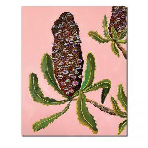Blush Banksia Seed Pods | Original Artwork