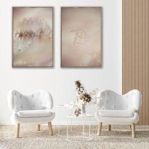 Blush Dreams 1 | Set of 2 Art Prints | Unframed
