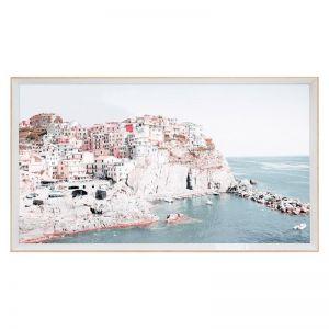 Blush Hilltop | Framed Art Print
