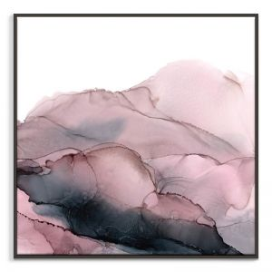 Blush Mountains | Fern Siebler | Canvas or Print by Artist Lane