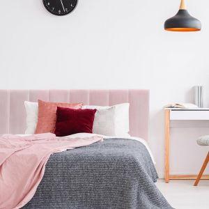 Blush Pink Velvet Panelled Upholstered Bedhead | Custom Made | All Sizes