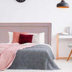 Blush Pink Velvet Studded Upholstered Bedhead | All Sizes | Custom Made by Martini Furniture