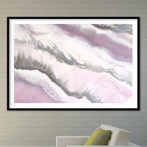 Blush Sands 2 | Abstract Artwork. ACRYLIC Limited Edition Print | Antuanelle