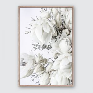 Blushing 1 | Framed Premium Canvas Print