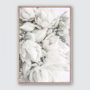 Blushing 2 | Framed Premium Canvas Print