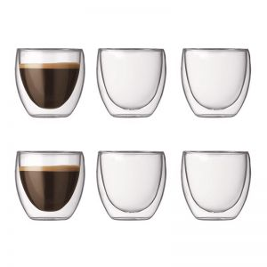Bodum Pavina | 6 pcs glass | Extra small 0.08 l, 2.5 oz