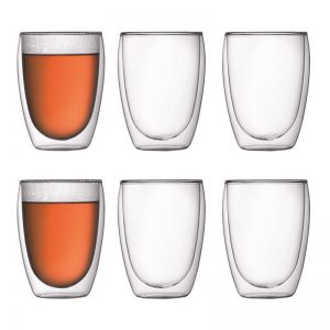 Bodum Pavina | 6 pcs glass | Medium 0.35 l, 12 oz