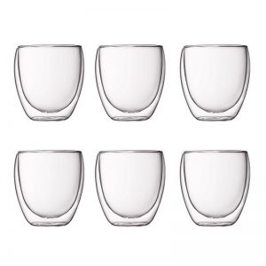 Bodum Pavina | 6 pcs glass | Small 0.25 l, 8 oz