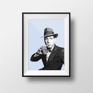 Bogart | Art Print | Framed and Unframed