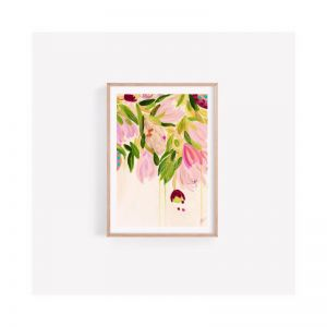 Boho Bouquet Australian Fine Art Print | Unframed