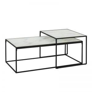 Bolton Nest Of Tables | 100cm | White