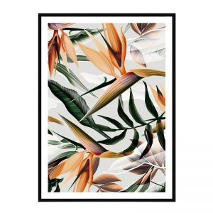 Bombay Palms | Framed Art Print