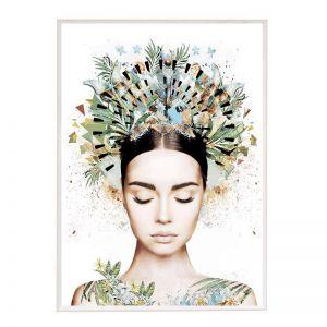 Bombay Princess | Framed Art Print