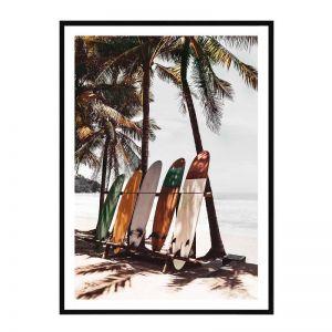 Bombay Surf | Framed Art Print