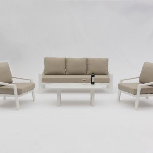 Bondi 4-Piece Aluminium | Outdoor Lounge Setting
