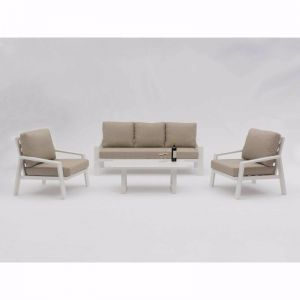 Bondi 4-Piece Aluminium | Outdoor Lounge Setting