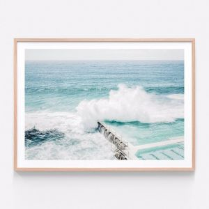 Bondi Crash | Framed Print | 41 Orchard
