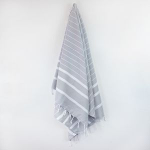 Bondi Turkish Towel | Various Colours | Classic Grey