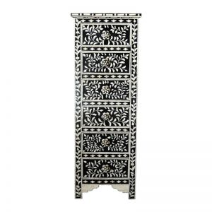 Bone Inlay Lingerie Tallboy