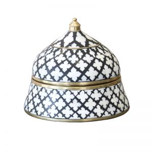 Bone Inlay Trinket Boxes | Various Sizes | Moroccan | By Raw Decor
