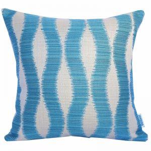 Bora Bora Turquoise | Sunbrella Fade and Water Resistant Outdoor Cushion | Outdoor Interiors