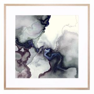 Boron and Ice   Framed Print by United Interiors & Alisa and Lysandra