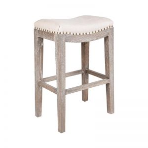 Boston Bar Stool | Cream