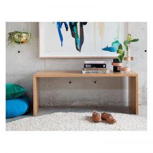 Boston Solid Oak 120cm Bench Seat | by Francesca Rellee Boston