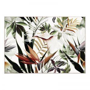 Botanie Bloom | Framed Canvas Art Print