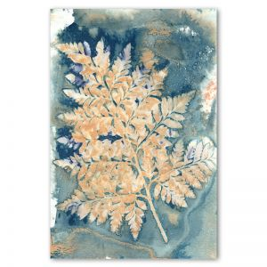 Botany Blue 2   Art Print by Natascha van Niekerk   Unframed