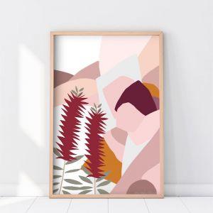 Bottlebrush | Art Print | Various Sizes |
