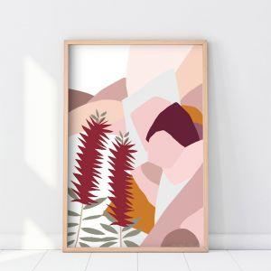 Bottlebrush   Art Print   Various Sizes   Unframed