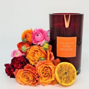 BOUDOIR Essential Oil Candle | Limited Edition Large Vase | Personally signed by Mitch and Mark