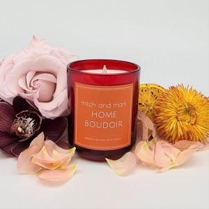 BOUDOIR Essential Oil Candle | Limited Edition | Personally signed by Mitch and Mark