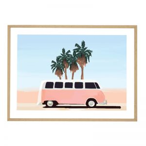 Boulevard Comby | Flat Natural Frame | Front View