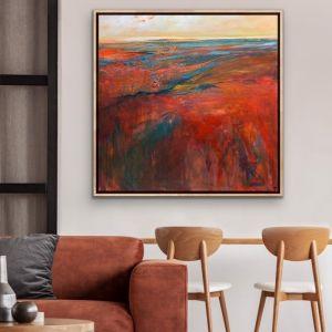Boulia Sunrise by Tania Chanter | Original Artwork | Art Lovers Australia